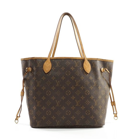 Auth Louis Vuitton Neverfull Mm Tote #8036L57